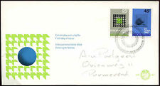 Netherlands 1970 United Nations & Parliamentary Conf FDC First Day Cover #C27421