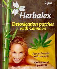 Premium Detox Foot Pads with Cannabis 2 pcs Organic Herbal Cleansing