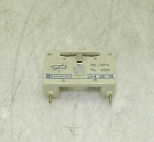 Telemecanique Coil Suppressor Module, # LA4 DE 1G, 50-127 V, Used, WARRANTY