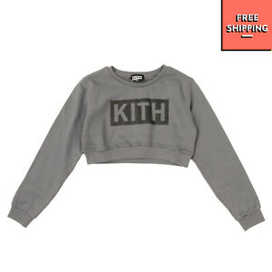 KITH KIDS Sweatshirt Size 13-14Y Printed Front Long Sleeve Round Neck