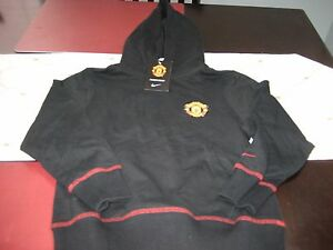 BOYS/GIRLS YOUTH NIKE Manchester United Red Devils Soccer Hoodie SMALL S NWT