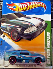 Hot Wheels 2012 Treasure Hunt 1992 FORD MUSTANG Crease Not Mint