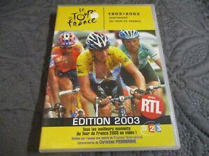 """RARE! DVD """"LE TOUR DE FRANCE 2003"""" cyclisme velo"""