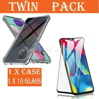 10D Tempered Glass Screen Protector SAMSUNG A21s A51 A71 A91 A01 FULL COVER/CASE