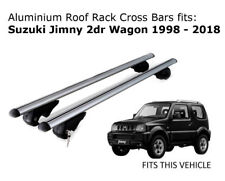 Aluminium Roof Rack Cross Bars fits Suzuki Jimny 1998-2018
