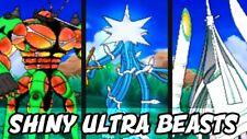 Ultra Pokemon Sun and Moon Shiny Ultra Beast Bundle *Necrozma Included*