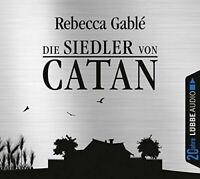 REBECCA GABLÉ - DIE SIEDLER VON CATAN (JUBILÄUMSAUSGABE) 6 CD NEU