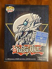 Funko Pop! Tees Yu-Gi-Oh! Blue-Eyes White Dragon Box Lunch Exclusive L Large New