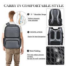 "17.3"" Laptop Backpack Anti-theft Waterproof Shockproof Business Travel Bag Case"