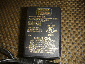 Original Fisher Price 00801-0972  power wheels battery charger #c-12150