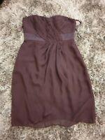 Coast Aubergine Dress. Size 12.