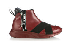 Roberto Botticelli Leather Italian Sneakers New Red