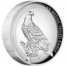 2016 P Australia Silver Wedge-Tail Eagle High Relief Proof $1 - Coin in Capsule