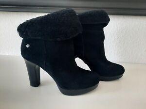 Neues AngebotUGG Australia Boots, Bootis, Ankle Boots, Wildleder, Schwarz, Gr.37 Nagelneu!!