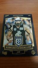 BRUCE DOULL 2014 CARLTON NORM SMITH MEDALLIST HAND SIGNED TIN CARD LEGEND RARE