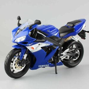 Scale 1:12 Kids Maisto Yamaha Yzfr1 Race Motorbike  Motorcycle Model Toy Bike