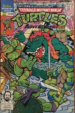Eastman And Laird's Teenage Mutant Ninja Turtles #6 Archie 1989 TMNT Comic - VF