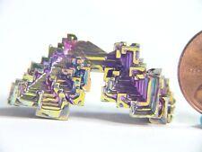 BUTW Bismuth Crystal Formation Lapidary Mineral Specimen 0699K