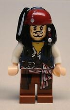 x1 NEW Lego Captain Jack Sparrow Minifig Pirates of the Caribbean 4192 4191 4183