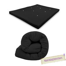 All Sizes Replacement Futon Mattress 9 Colours FREEPOST Black 3 Seater