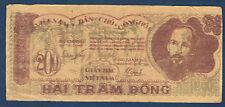 VIETNAM - 200 DONG Pick n° 34a. de 1950. en TTB  KQ 168 11Q 026