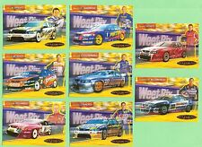 #D139. SANITARIUM WEETBIX 2005  V8 SUPERCARS EIGHT CARD SET