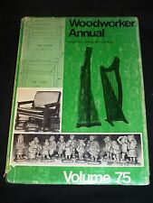 Woodworker Annual Volume 75, 1971, scarce, includes plastics