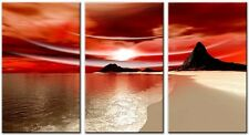 3 Panel Total Size 90x50cm Large Digital Print Canvas Wall Art TYLER