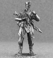 """/"""" 54mm Plastic Toy Soldiers TSSD27 /""""WWII German Soldier Add-On Set GRAY"""