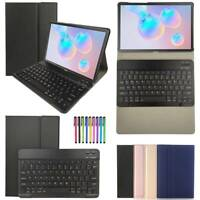 For Samsung Galaxy Tab S6 10.5 T860 T865 Tablet Case Cover w/ Bluetooth Keyboard