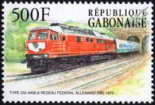 DB (German Railways) Class 130 Type 232 No.406-9 Diesel-Electric Train Stamp