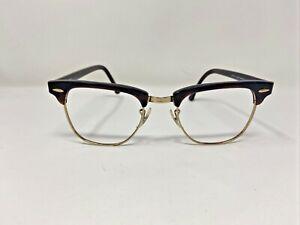 Ray Ban BAUSCH LOMB Sunglasses Frames WO366 Brown/Gold Full Rim JB42