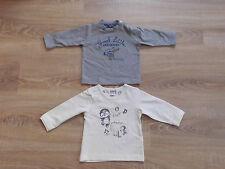 Shirt Langarmshirt T-Shirt  1/1 Arm 2-er Set  für Jungen Gr.56