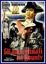 Mutiny On The Bounty 1930's Movie Posters Classic & Vintage Cinema