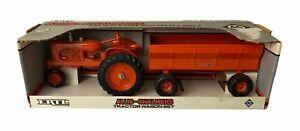 1989 ERTL Allis-Chalmers #1209 Tractor & Wagon Set 1/16 Scale New NIB