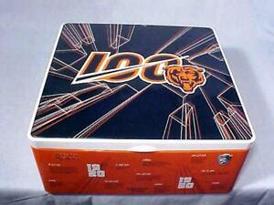 Chicago Bears 100 YEAR SEASON TICKET HOLDER Tin HALAS MACK BOBBLEHEADS 2019 NEW