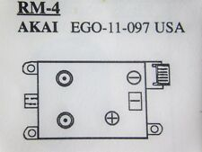 EGO-11-097/ EG0-11-097 / for AKAI / VCR RF MODULATOR / RM-4 /1 PIECE(qzty)