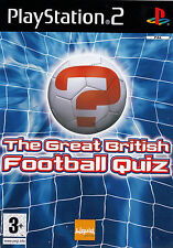 The Great British FOOTBALL QUIZ PlayStation 2 Game  PS2   SirH70