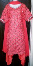2XL Size 52 Readymade Stitched Salwar kameez Suit Bollywood Ethnic Dress Saree