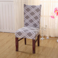 Washable Stretch Dining Chair Slipcovers Removable Banquet Chair Seat Cover New