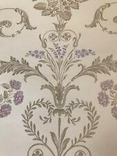 Laura Ashley Henrietta Lavender Wallpaper w089201-a/1