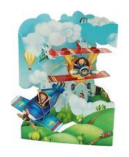 Santoro 3D Greeting Swing Card - Planes