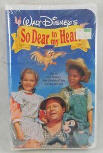 New Sealed Walt Disney's So Dear To My Heart VHS Movie Burl Ives