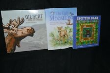 Rocky Mountain Books Gilbert Park City Moose, The Ugly Mooseling, Spotted Bear