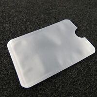 5x RFID Blocker Schutzhülle Safe Kredit EC Karte Ausweis Pass Schutz Hülle Funk