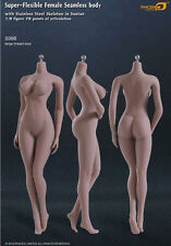 PHICEN 1/6 Female Super-flexible Stainless Steel Skeleton Seamless Figure Body S06b Wheat-big Bust
