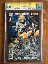 Justice Society of America #1 CGC 9.0 SS Geoff Johns Variant Cover