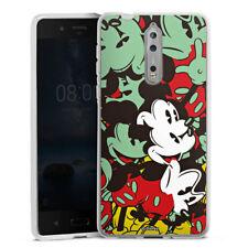Nokia 8 Silikon Hülle Case - Mickey Muse