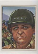 1951 Bowman Fight the Red Menace General Walton H Walker #18 0s4