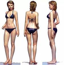 Resin Figure Kit 1/35 Beach Sexy Girl Garage resin Figure Model Kit